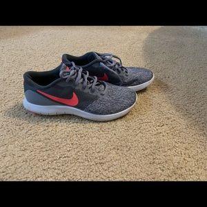 Nike tennis shoes.